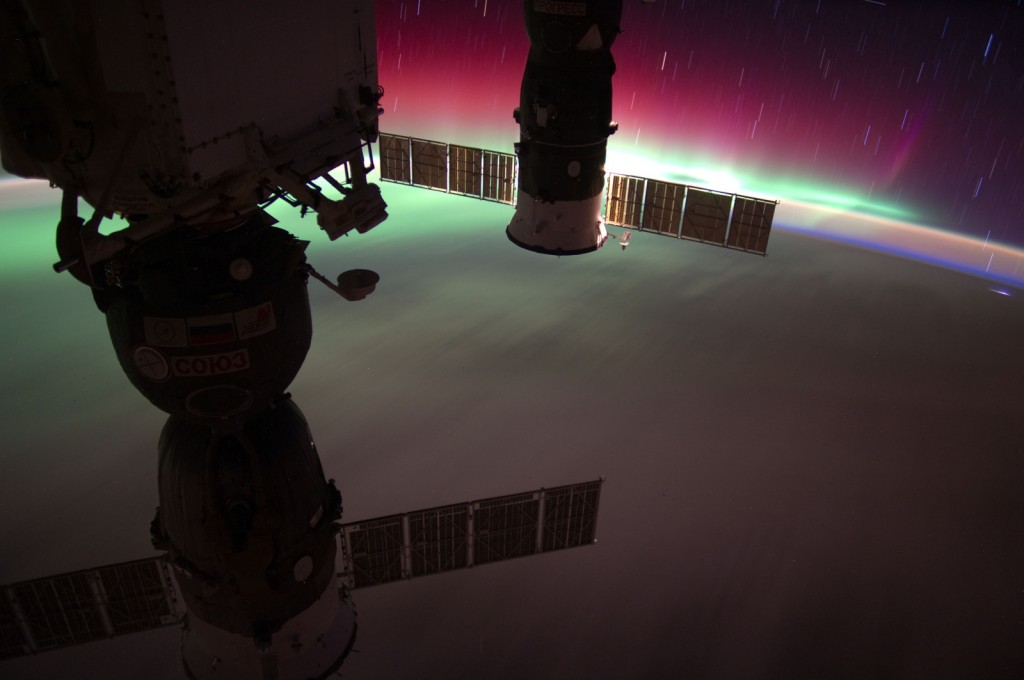 NASA-ISS-Aurora