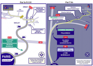 Plan acces Ecole polytechnique